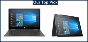HP Pavilion X360-with perfect touchscreen