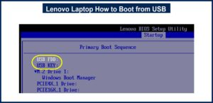 Lenovo Laptop How to Boot from USB