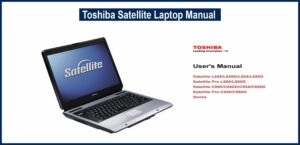 Toshiba Satellite Laptop Manual