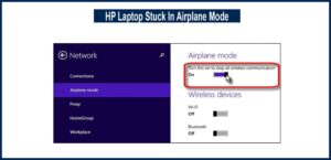 HP Laptop Stuck In Airplane Mode