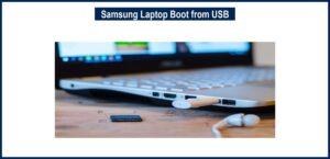 samsung laptop boot from usb